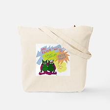 Gremlin Graffiti Tote Bag