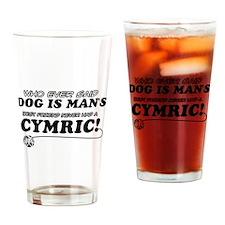 Cymric Cat designs Drinking Glass