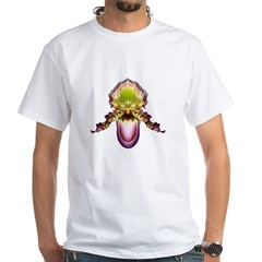 Purple & Green Paph Orchid Shirt