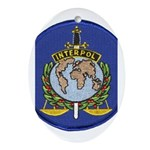 Interpol Oval Ornament