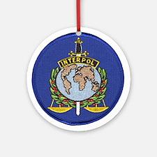 Interpol Ornament (Round)
