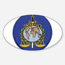 Interpol Oval Decal