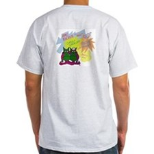 Gremlin Graffiti Grey T-Shirt