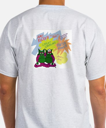 Gremlin Graffiti Grey T-Shirt