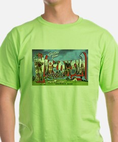 Wisconsin Greetings (Front) T-Shirt