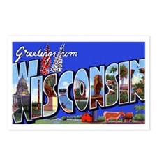 Wisconsin Greetings Postcards (Package of 8)