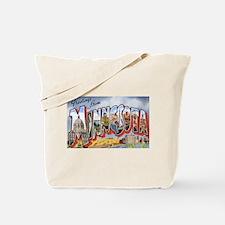 Minnesota Greetings Tote Bag