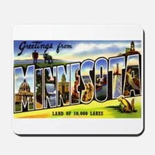 Minnesota Greetings Mousepad