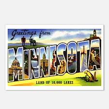 Minnesota Greetings Postcards (Package of 8)