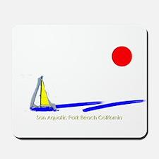 San Aquatic Park Mousepad