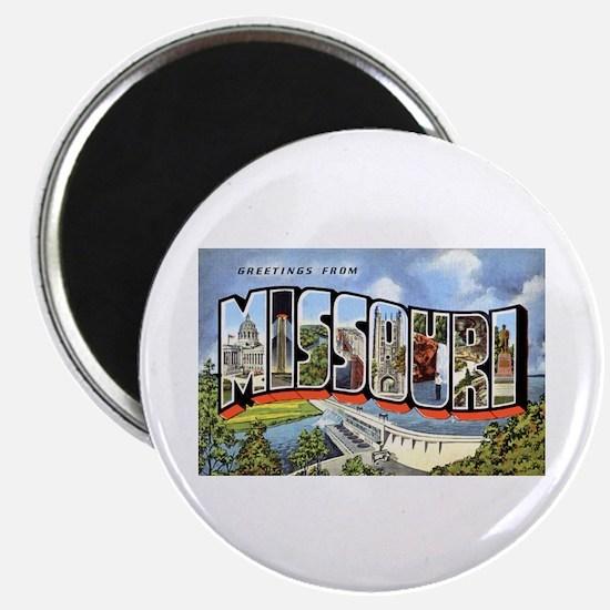 Missouri Greetings Magnet
