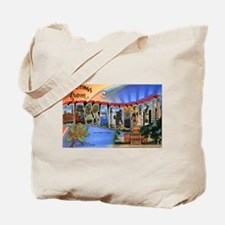 Massachusetts Greetings Tote Bag