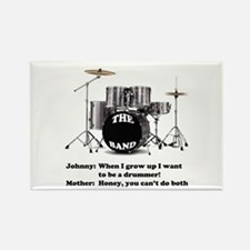 Drummer Joke - Rectangle Magnet