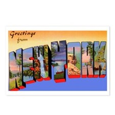 New York Greetings Postcards (Package of 8)