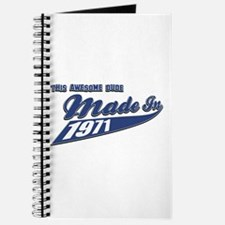 Made in 1971 Journal