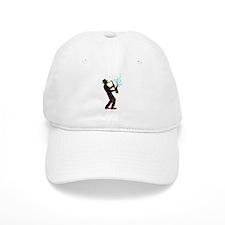 Saxophone Player Baseball Cap