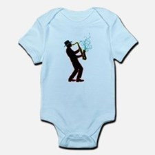 Saxophone Player Infant Bodysuit