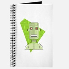 Cool Circuit Board Retro Robot Journal