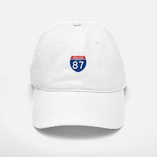 Interstate 87 - NY Baseball Baseball Cap