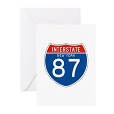 Interstate 87 - NY Greeting Cards (Pk of 10)