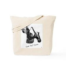 Charlie Purrrker Tote Bag