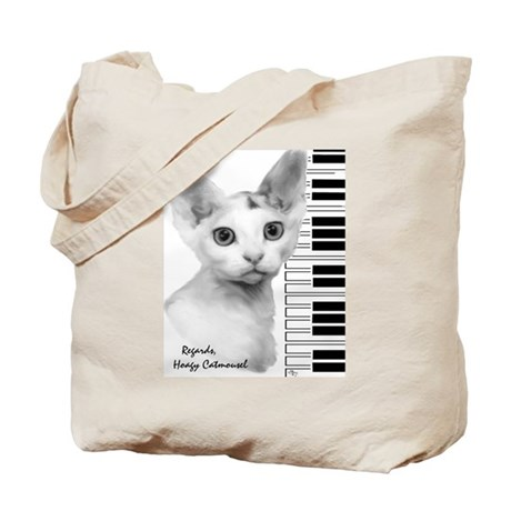 Hoagy Catmousel Tote Bag