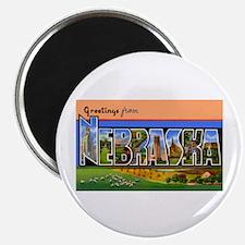 Nebraska Greetings Magnet