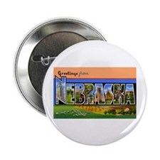 Nebraska Greetings Button
