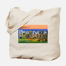 Nebraska Greetings Tote Bag