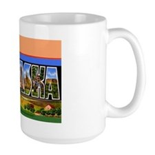 Nebraska Greetings Mug