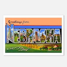 Nebraska Greetings Postcards (Package of 8)