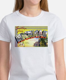Michigan Greetings (Front) Tee