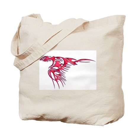 Tribal Bird Art 2 Tote Bag
