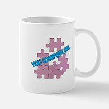 You Complete Me Puzzle Pieces Mug
