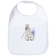 Polar Bear in Snow Bib