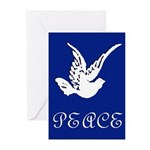 Peace Dove Peace Christmas Cards (Pk of 10)