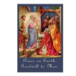 Peace on Earth Christmas Postcards (Pk of 8)