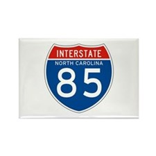 Interstate 85 - NC Rectangle Magnet (10 pack)