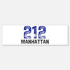 212 Bumper Bumper Bumper Sticker
