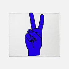 Sign Language 2 e1 Throw Blanket