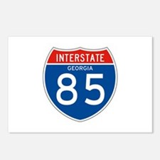 Interstate 85 - GA Postcards (Package of 8)