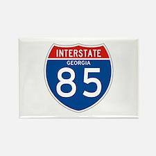 Interstate 85 - GA Rectangle Magnet