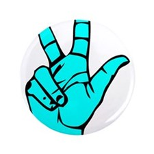 "Sign Language 3 e1 3.5"" Button"