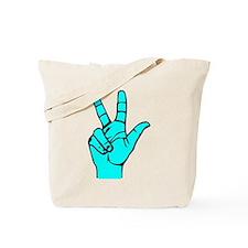Sign Language 3 e1 Tote Bag