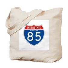 Interstate 85 - AL Tote Bag
