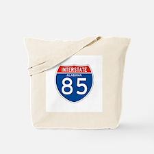 Interstate 85 - AL Tote Bag