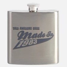 Made in 1983 Flask