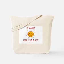 Grandma Loves Me Tote Bag