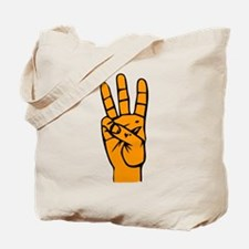 Sign Language 6 e1 Tote Bag