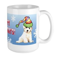 Holiday Bichon Mug